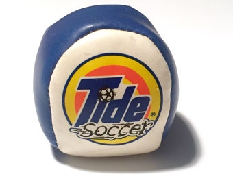 SALE! Vintage 1990's Tide / Downy Soccer Hackey Sack Toy - Promotional Tie-In Item