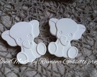 20 Chalks scented critters favors, christening birthday placeholder