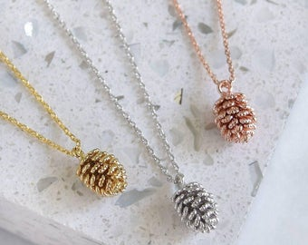 Pinecone Necklace