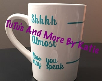 Coffee cups - quote coffee cups - custom coffee cups - personalized coffee cups - FREE SHIPPING