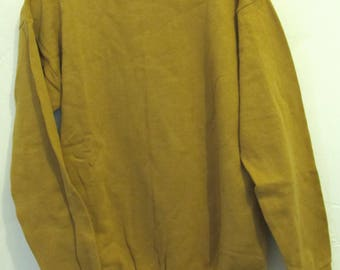A Boy's Vintage 70's,NWWT Gold Colored HIPSTER Meets Hippie Sweatshirt.L