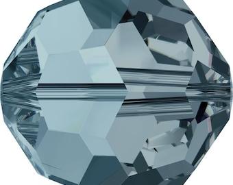 Swarovski Crystal Round Beads 5000 - 4mm 6mm - Indian Sapphire