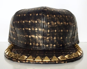 Pyramid Studded Snapbacks