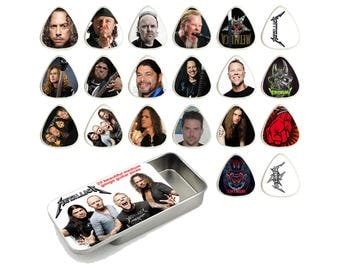 Metallica Guitar Pick Gift Set - Set of 20