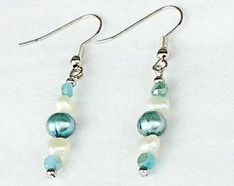 Mermaid Inspired Earrings