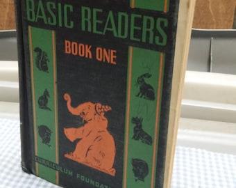 Basic Reader Book 1 Elson Gray Early Reader