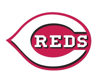 Cincinnati Reds Logo Vinyl Decal Many Sizes Available Buy 2 get 1 free of equal or lesser size!