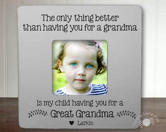 Gifts for Great Grandma Great Grandma Gift Mother's Day Gift Great Grandma The Only Thing Better Than Having You For A Grandma IB5FSMAG