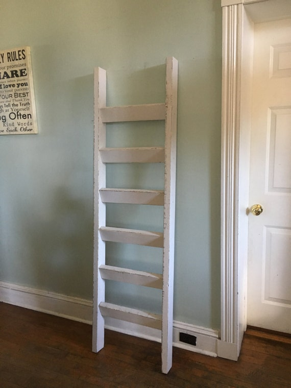 6 ft x 21 inches blanket ladder handcrafted in by clintonrustics. Black Bedroom Furniture Sets. Home Design Ideas