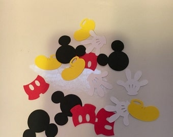 Mickey Mouse Table Decor Confetti