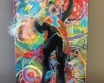 Secondline, French Quarter Art, Southern Art, New Orleans Art, Wall Decor, Wall Art, Home Decor, Home Art
