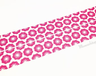 Kamoi mt ex 2017ss - flower stamp washi tape (T01024)