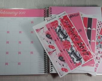 Planner Stickers-February Monthly Sticker Kit