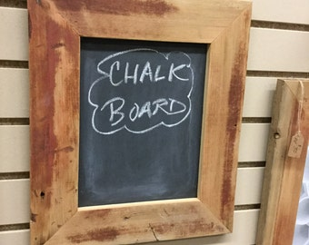Chalkboard made from REAL reclaimed barnwood chalkboard from reclaimed wood