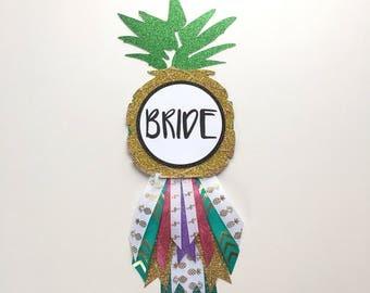 Pineapple Bride Bachelorette/Bridal Shower Pin