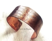 7 Year Anniversary Copper Cuff - Personalized 7 year Anniversary - 7th Anniversary Copper Gift Ideas - 7th Year Anniversary - Personalized