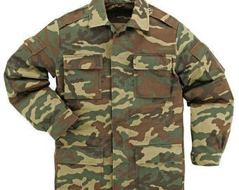 Camouflage jacket for aGatti mCC body , 9 camouflage colors