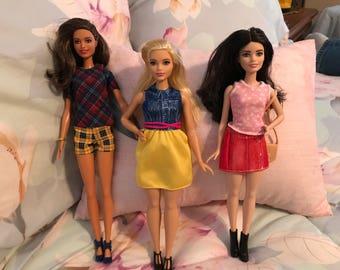 Barbie Fashionistas Set