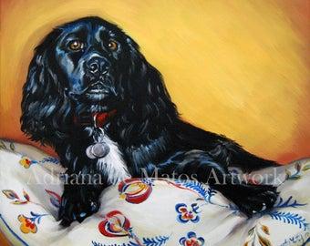 Pet Portraits - Original Oil Painting - Commissioned Art Work