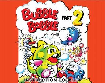 Bubble Bobble 2 manual