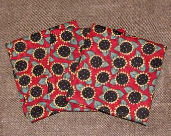 Destash Fabric - Fat Quarters - Quilting Cottons - Sewing Cottons - Sunflowers - (1 Fat quarter)
