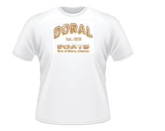 Doral Boats Front Logo T-Shirt