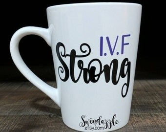 I.V.F strong coffee mug *all profits donated*