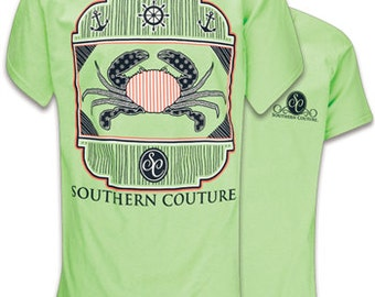 Southern Couture Nautical Crab, Simply Southern Style