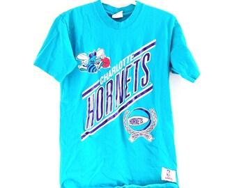 Charlotte Hornets Vintage T Shirt