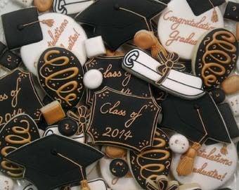 Assorted Graduation Cookies