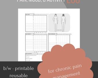 Weekly Pain, Mood, and Activity Log