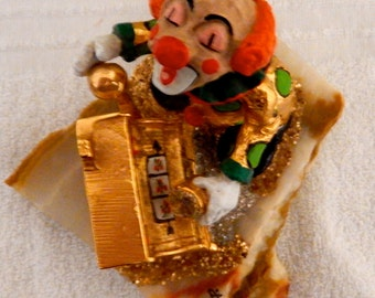 Signed Judi Originals of California 24K Gold Plated, Hand Painted