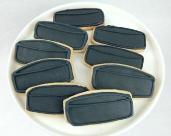 Hockey Puck Cookies