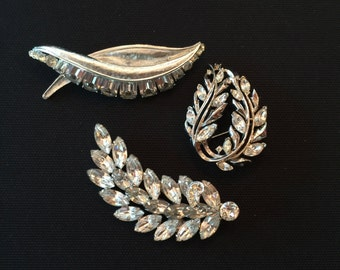 Vintage Brooch Lot