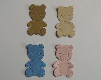 Teddy Bear Die Cuts