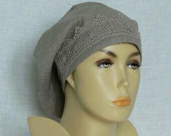 Linen beanie, summer beanie, women's beanie, Oeko Tex, beanie,