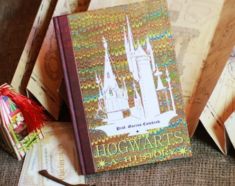 """The book """" HOGWARTS: A HISTORY"""" from """"Harry Potter"""""""