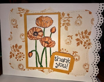 4 Handmade Thank You Cards