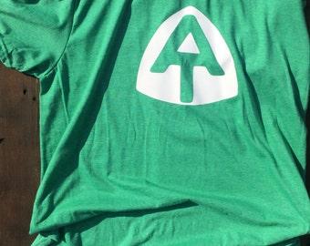 AT shirt Appalachian trail shirt hiking shirt outdoors shirt soft shirt custom t shirts Maine to Georgia t shirts trail blaze hiker gift