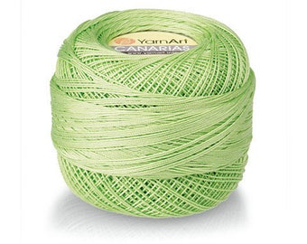 CANARIAS Yarnart 100% mercerized cotton yarn for crochet and knitting 20g - 203m