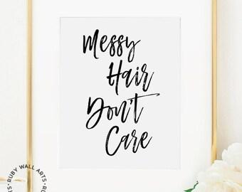 Salon Wall Art hair salon wall art | etsy