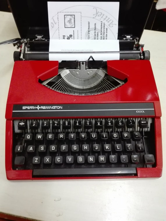 Sperry remington idool typewriter