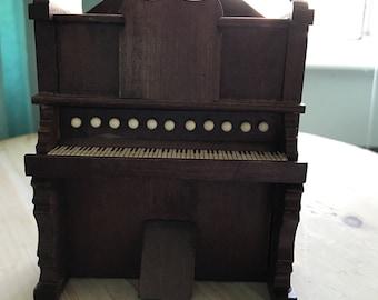 Vintage Dollhouse Piano