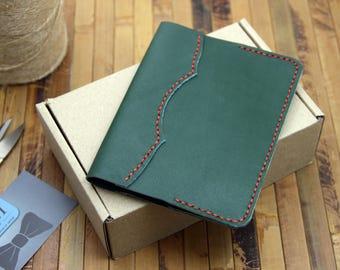 Leather passport cover, passport cover, passport holder, Passport case
