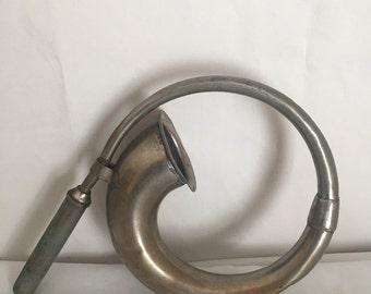 Vintage Car Horn, Automobile Collectible, Auto Horn
