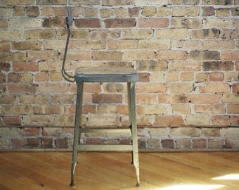 industrial machinist stool by Lyon