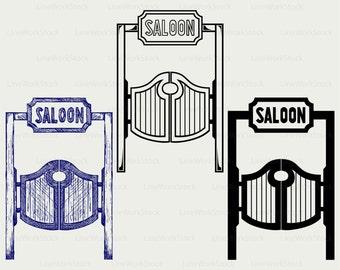 Saloon doors svgsaloon doors clipartsaloon doors svgsaloon doors silhouette