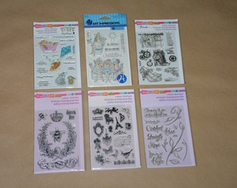 Clear Stamp Sheets