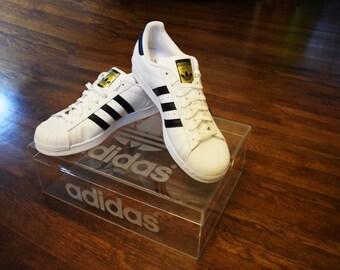 Adidas Clear Acrylic Shoe Box