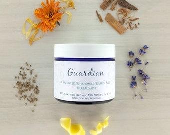 HEALING SALVE • Guardian • Eczema • Psoriasis • Sensitive • Dermatitis • Calendula • Comfrey • Organic Salve • Natural Salve • Herbal Salve